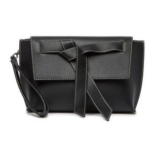 NWT French Connection | Black Wristlet Clutch